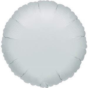 Silver Round Balloon - 18'' Foil - unpackaged