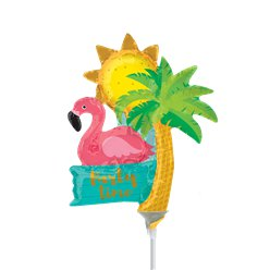 Let's Flamingle Mini Balloon - 9