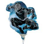 "Black Panther Mini Shape Balloon - 9"" Airfilled"