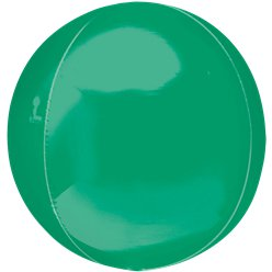 "Green Orbz Balloon - 16""-18"" Foil"