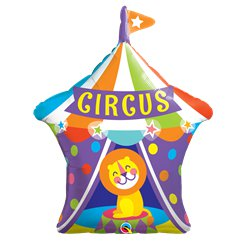 "Big Top Circus Lion Supershape Balloon - 36"" Foil"