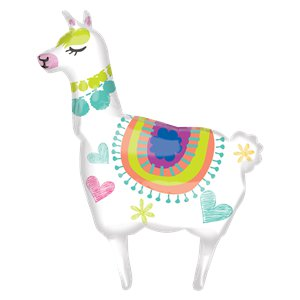 Llama SuperShape Balloon - 41