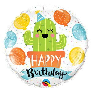 Birthday Party Cactus Balloon - 18