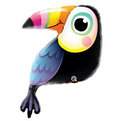 "Toucan Supershape Balloon - 41"" Foil"
