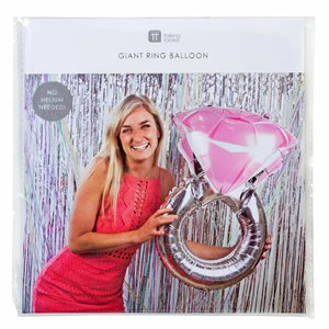 Silver Ring Supersize Balloon - 30