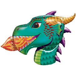 "Dragon Supershape Balloon - 36"" Foil"