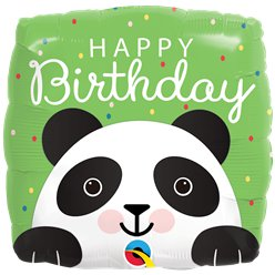 "Panda Birthday Balloon - 18"" Foil"
