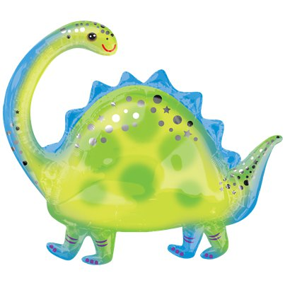"Brontosaurus Supershape Balloon - 32"" Foil"
