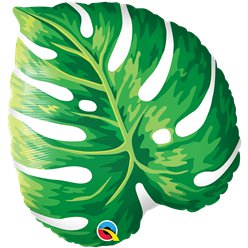 "Tropical Leaf Supershape Balloon - 21"" Foil"
