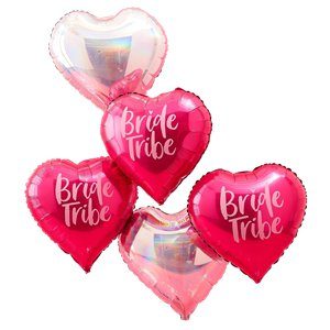 Bride Tribe Heart Balloons - 18