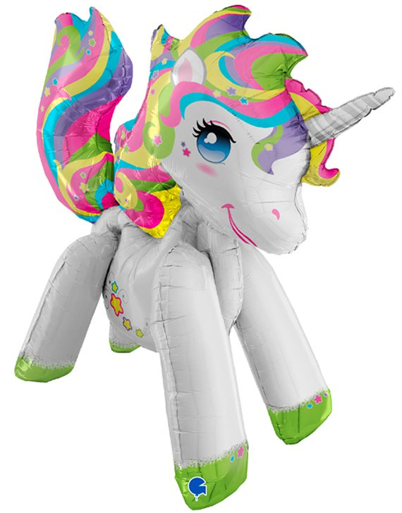 "Unicorn Airwalker Balloon - 42"" Foil"