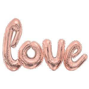 Giant Rose Gold Love Balloon - 53