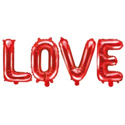 Red Love Foil Balloon - 55""