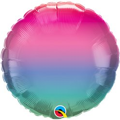 "Jewel Ombre Balloon - 18"" Foil"