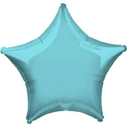 Robins Egg Blue Star Balloon - 19