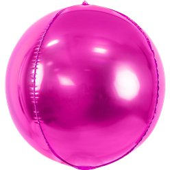 Hot Pink Foil Balloon Ball - 16""