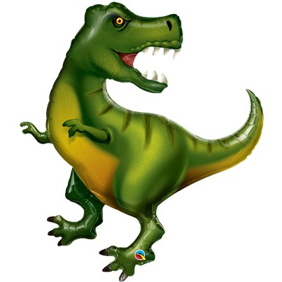 "T-Rex Superhape Balloon - 42""Foil"