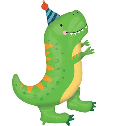 "Dinosaur SuperShape Balloon - 34"" Foil"