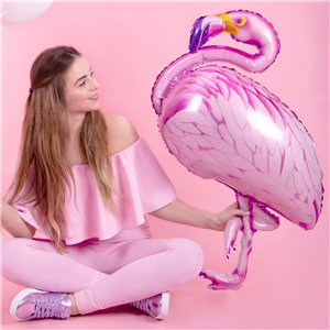 Flamingo Supershape Foil Balloon - 37