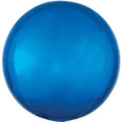 "Blue Orbz Balloon - 16"" Foil"