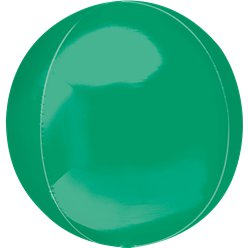 "Green Orbz Balloon - 16"" Foil"