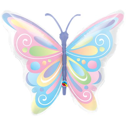 "Beautiful Butterfly Supersize Balloon - 40"" Foil"