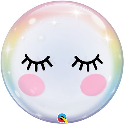 Eyelashes Bubble Balloon - 22""
