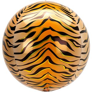 Tiger Orbz Foil Balloon Kit