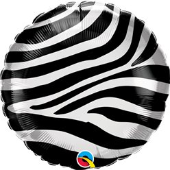 "Zebra Stripes - 18"" Foil"