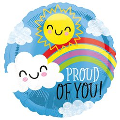 "Proud of You Balloon - 18"" Foil"