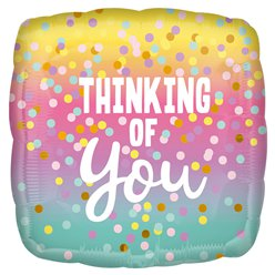 "Thinking of You Balloon - 18"" Foil"