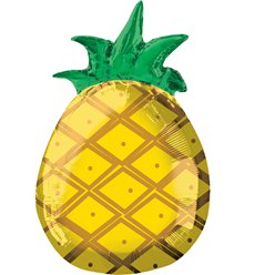"Pineapple Shape Balloon - 18"" Foil"