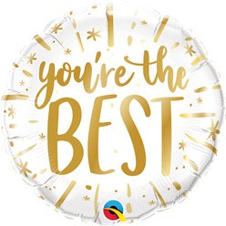 "You're the Best Balloon - 18"" Foil"