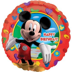Mickey Clubhouse Happy Birthday Balloon - 18