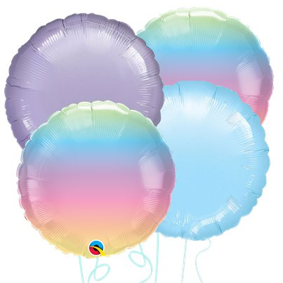 Pastel Ombre Balloon Bouquet