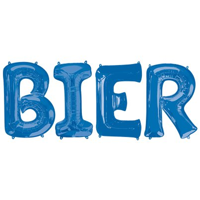 BIER Foil Letter Balloon Kit