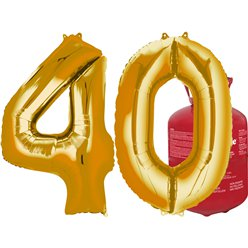 40 gold foil kit 1 (Foil Balloons)