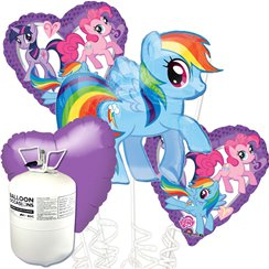 My Little Pony Balloon Bouquet Kit With Helium