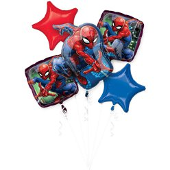 Spider-Man Bouquet Foil Balloons