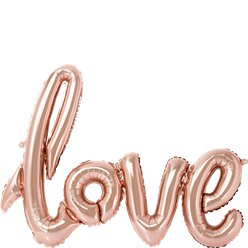 Rose Gold Love Foil Balloon - 30