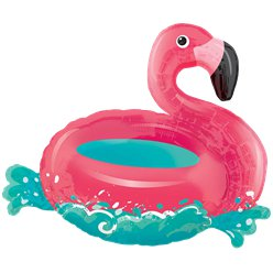 Floating Flamingo Supershape Balloon - 30