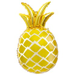 Gold Pineapple Supershape Foil Balloon - 26
