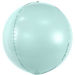 Mint Green Foil Balloon Ball - 16