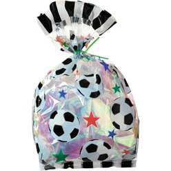Football Cello Party Bags
