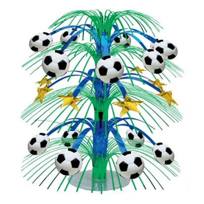 Championship Football Cascade Table Centrepiece - 45cm
