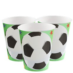 Championship Football Party - Paper Cups 266ml