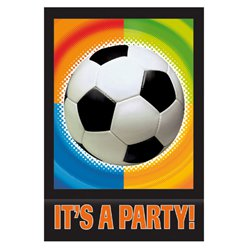 Championship Football Party Invitation Cards