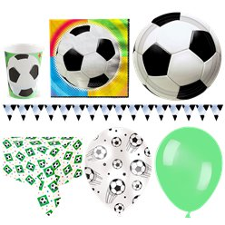 Championship Football Party Pack - Deluxe Pack for 16