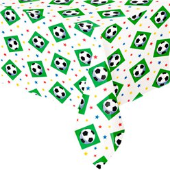 Championship Football Party Plastic Tablecover