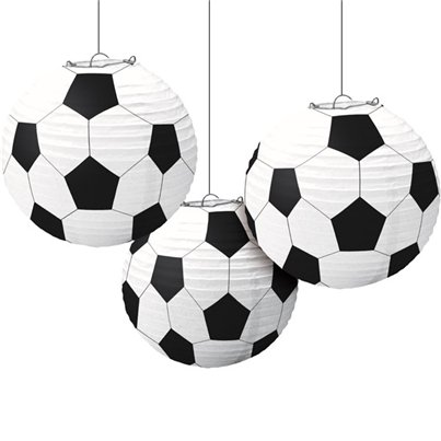 Football Paper Lanterns - 24cm